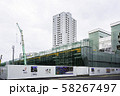 JR福井駅 北陸新幹線延伸 新幹線ホーム建設 福井県福井市 58267497