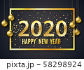2020 New Year background 58298924