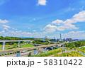 大阪モノレール 万博記念公園駅付近  58310422