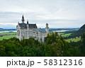 ノイシュバンシュタイン城 ドイツ 58312316