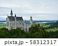 ノイシュバンシュタイン城 ドイツ 58312317
