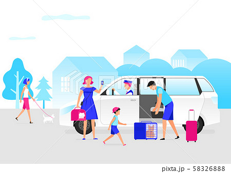 Transportation and travel concept illustration 004 58326888