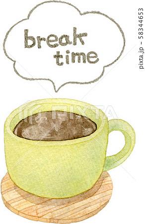コーヒー ブレイクタイム 58344653