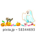 かぼちゃとおばけ02 58344693