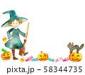 ハロウィン仮装魔女02 58344735