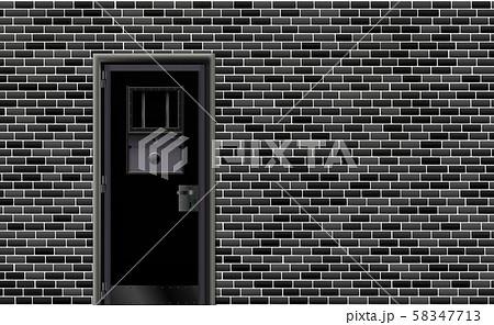 Trend european prison interior, dark background. 58347713