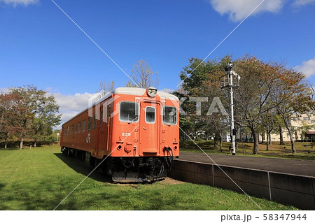 キハ22形気動車・別海町鉄道記念公園 58347944