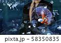 VR 5G AI 人工知能 フィンテック Fintech MaaS ICT ブロックチェーン 3D 58350835