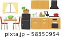 インテリア キッチンとダイニング 58350954