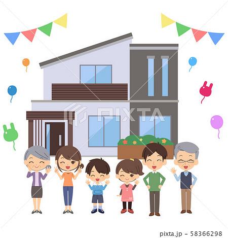 三世帯住宅 セット 58366298