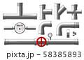 Water counter, pressure regulator, metallic pipes 58385893
