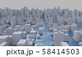 水害 水没 災害 CG 58414503