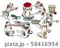猫の宴会 58416954