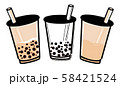 台湾旅行 タピオカミルクティー 58421524