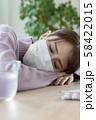 若い女性 体調不良 58422015