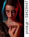 female halloween makeup 58429447