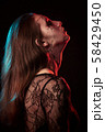 female halloween makeup 58429450