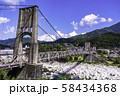 (長野県)国指定重要文化財 桃介橋 58434368
