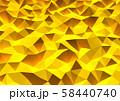 抽象的な背景 三角形 58440740