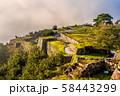 秋の竹田城跡 58443299