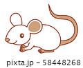 ねずみ イラスト mouse ベクター イラスト 58448268