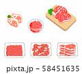食肉 いろいろ 58451635