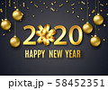 2020 New Year background 58452351