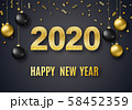2020 New Year background 58452359