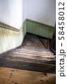 木造の古い建築 階段 58458012