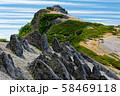 北アルプス・燕岳山頂 58469118