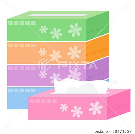 箱ティッシュ 58471557