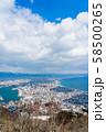 【北海道】函館の街並み 58500265