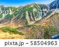 秋の室堂 絶景 紅葉 【富山県】 58504963