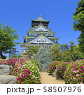 大阪城 南側 58507976
