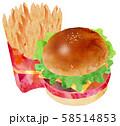 ハンバーガー2 58514853