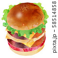 ハンバーガー6 58514858