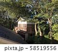 多摩川浅間神社の神楽殿 58519556