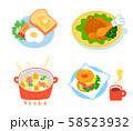 洋食いろいろ セット 58523932