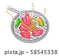焼肉 58545338