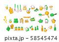 キッチン用品 材料セットC 58545474