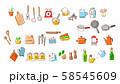 キッチン用品 材料セットA 58545609