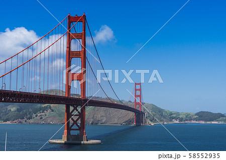 サンフランシスコ(ゴールデンゲートブリッジ) 58552935