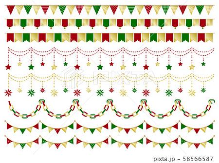 ガーランド クリスマス 58566587