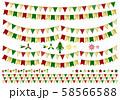 ガーランド クリスマス 58566588