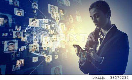 グローバルネットワーク 58576255