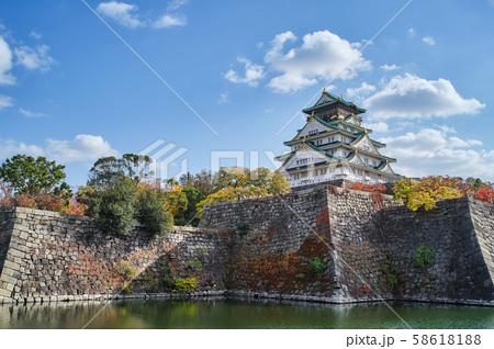 大阪城公園の秋景色 58618188