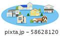 災害 住宅 水害 58628120
