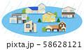 災害 住宅 水害 58628121