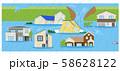 災害 住宅 水害 58628122