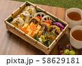 ピクニックのおべんとう Picnic lunch (outdoor bento) 58629181